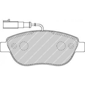 Kit plaquettes de frein FERODO code FDB1467