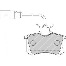 Brake pads kit FERODO code FDB1481