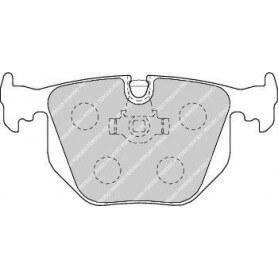 Kit plaquettes de frein FERODO code FDB1483
