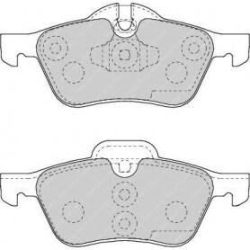 Kit plaquettes de frein FERODO code FDB1499