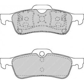 FERODO brake pads kit code FDB1500