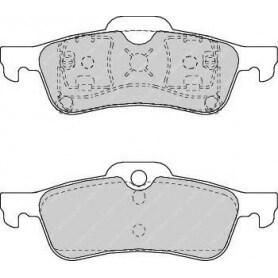 Kit plaquettes de frein FERODO code FDB1500