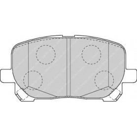 Brake pads kit FERODO code FDB1529