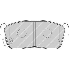 Brake pads kit FERODO code FDB1532
