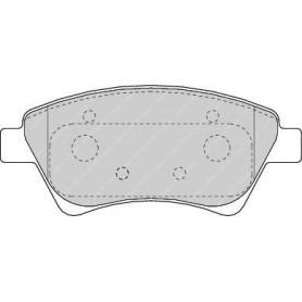 Brake pads kit FERODO code FDB1544