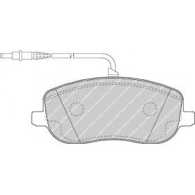Kit plaquettes de frein FERODO code FDB1556