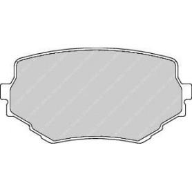 Brake pads kit FERODO code FDB1565