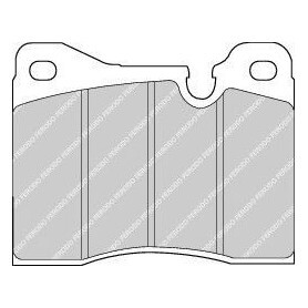 Brake pads kit FERODO code FDB161