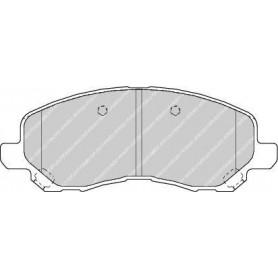 Kit plaquettes de frein FERODO code FDB1621