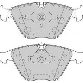 Kit plaquettes de frein FERODO code FDB1628