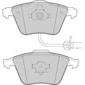 Brake pads kit FERODO code FDB1629