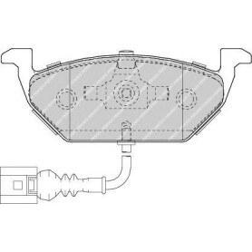 Brake pads kit FERODO code FDB1635