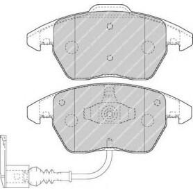 Brake pads kit FERODO code FDB1641