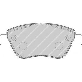 Bremsbelagsatz FERODO-Code FDB1666