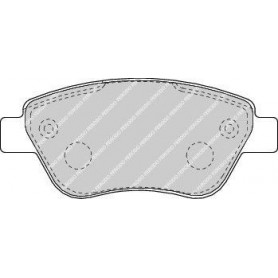 Kit plaquettes de frein FERODO code FDB1666