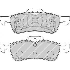 Kit plaquettes de frein FERODO code FDB1676