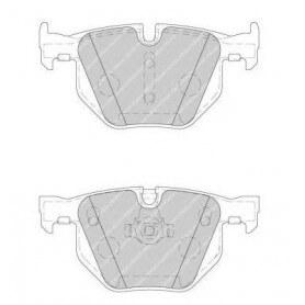 Kit plaquettes de frein FERODO code FDB1748