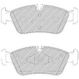 Bremsbelagsatz FERODO-Code FDB1751