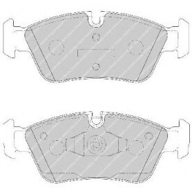 Kit plaquettes de frein FERODO code FDB1751