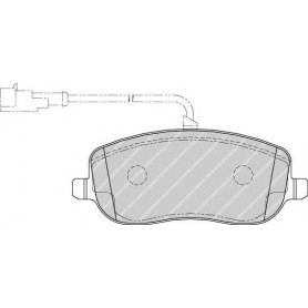 Kit plaquettes de frein FERODO code FDB1787