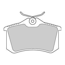 Kit pastiglie freno FERODO codice FDB1788