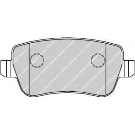 Brake pads kit FERODO code FDB1797