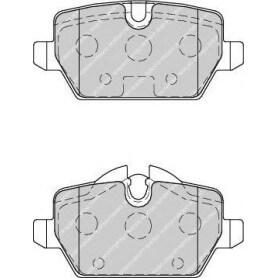 Kit plaquettes de frein FERODO code FDB1806