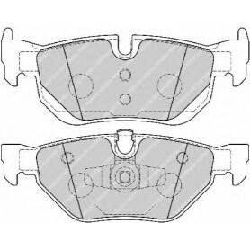 Brake pads kit FERODO code FDB1807