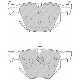 Kit plaquettes de frein FERODO code FDB1808