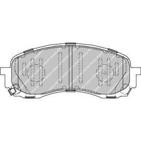 Bremsbelagsatz FERODO-Code FDB1863
