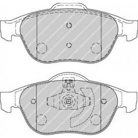 Brake pads kit FERODO code FDB1865