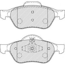 Brake pads kit FERODO code FDB1866