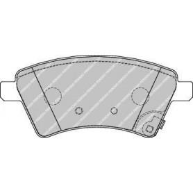 Bremsbelagsatz FERODO-Code FDB1875