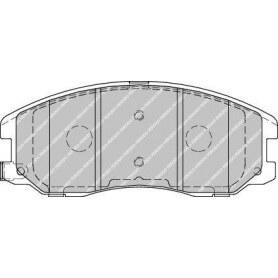 Kit plaquettes de frein FERODO code FDB1934