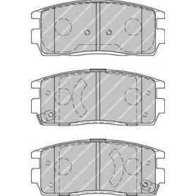 Kit plaquettes de frein FERODO code FDB1935