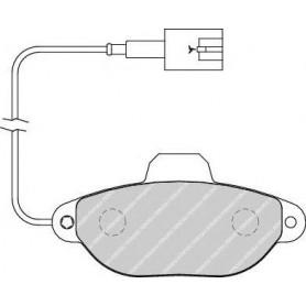 Kit plaquettes de frein FERODO code FDB1944