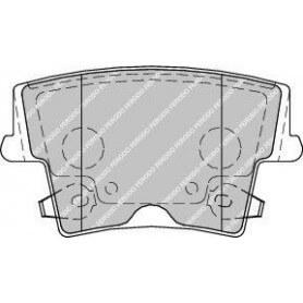 Kit plaquettes de frein FERODO code FDB1953