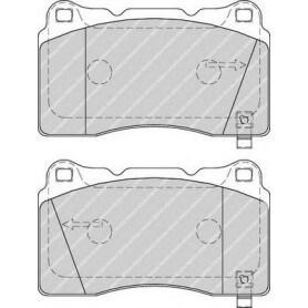Brake pads kit FERODO code FDB1968
