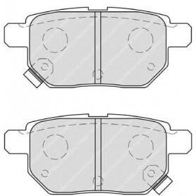 Brake pads kit FERODO code FDB4042