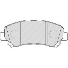 FERODO brake pads kit code FDB4051