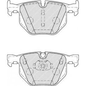 Kit plaquettes de frein FERODO code FDB4067