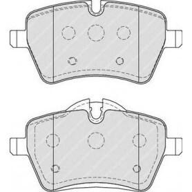 Kit plaquettes de frein FERODO code FDB4080