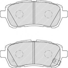 Kit plaquettes de frein FERODO code FDB4110