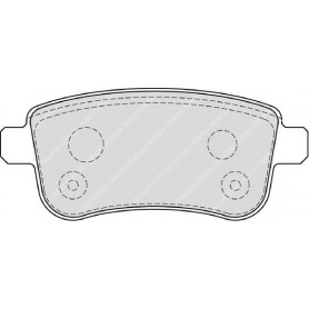 Bremsbelagsatz FERODO-Code FDB4182