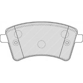 Bremsbelagsatz FERODO-Code FDB4185