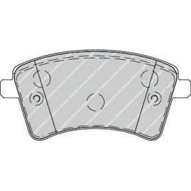 Bremsbelagsatz FERODO-Code FDB4256