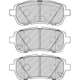 Kit plaquettes de frein FERODO code FDB4279