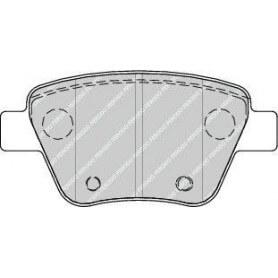 Bremsbelagsatz FERODO-Code FDB4316