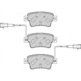 Kit plaquettes de frein FERODO code FDB4325