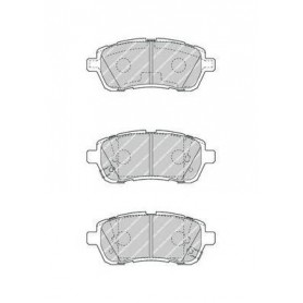 Kit plaquettes de frein FERODO code FDB4426